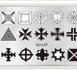 Стемпинг пластина QJ-L07