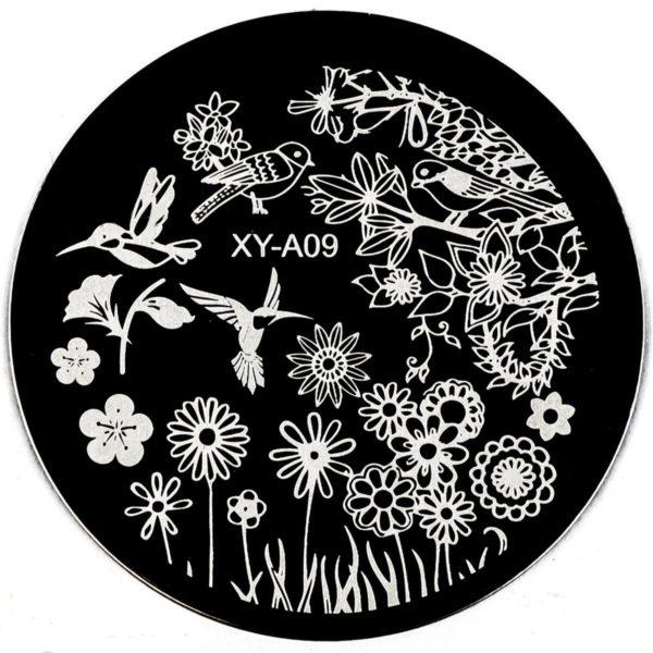 Стемпинг пластина XY-A09