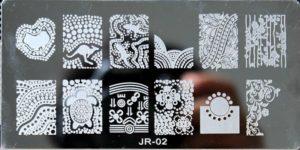 Стемпинг пластина JR-02