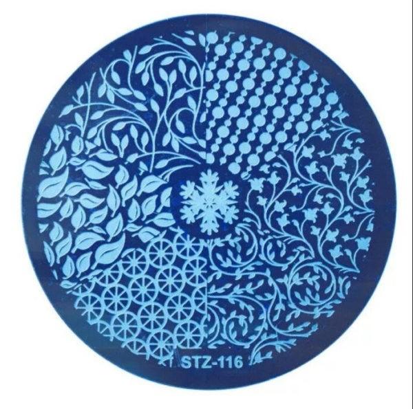 Стемпинг пластина stz-116