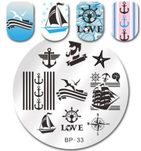 Стемпинг пластина BP-33