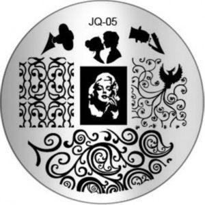 Стемпинг пластина JQ-05