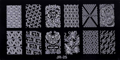 Стемпинг пластина JR-25