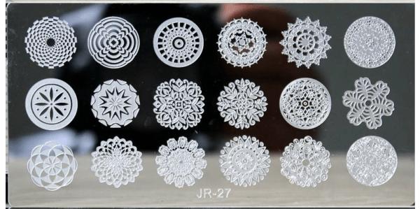Стемпинг пластина JR-27