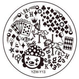 Стемпинг пластина YZW-Y-13