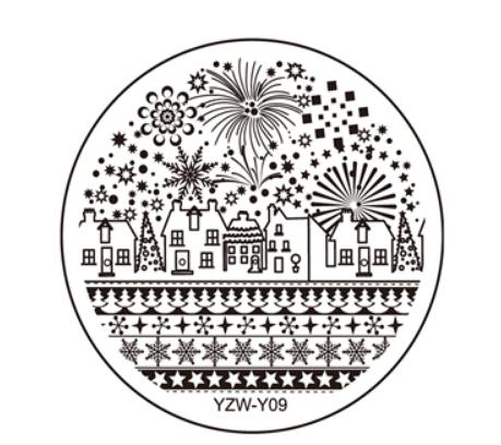 Стемпинг пластина YZW-Y09