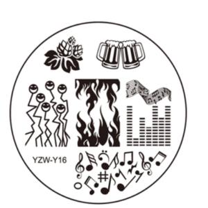 Стемпинг пластина YZW-Y16