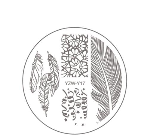 Стемпинг пластина YZW-Y17