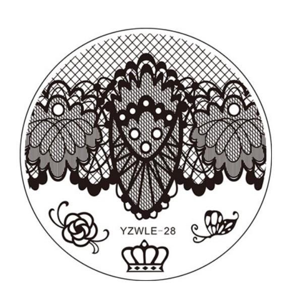Стемпинг пластина YZWlE-28