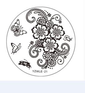 Стемпинг пластина Yzwle-21