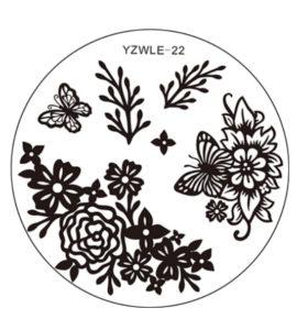 Стемпинг пластина Yzwle-22