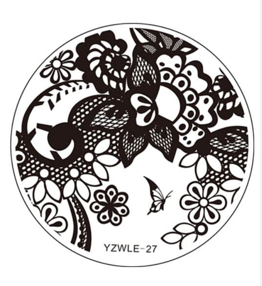 Стемпинг пластина Yzwle-27