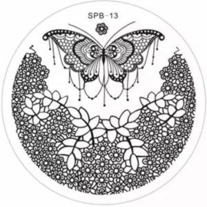 Стемпинг пластина spb-13