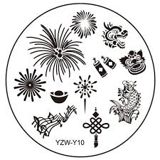 Стемпинг пластина yzw y-10