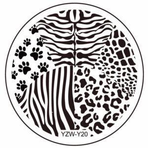 Стемпинг пластина yzw y-20