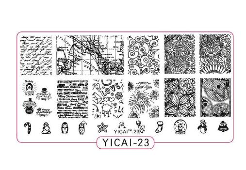 СТЕМПИНГ ПЛАСТИНА YICAI-23