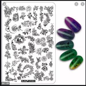 Стемпинг пластина ZJOY-PLUS003