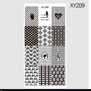 Стемпинг пластина XY Z09